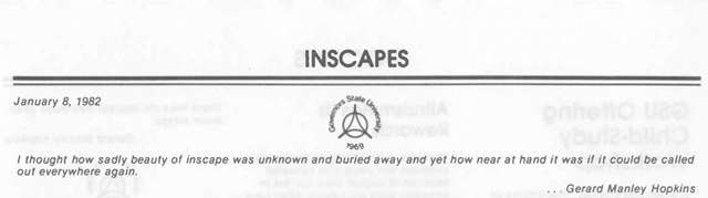 Inscapes