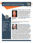 College of Arts and Sciences Alumni Newsletter