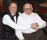 Michael Shaykin and Ed Asner