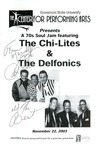 Chi-Lites & The Delfonics by Center for Performing Arts