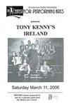 Tony Kenny's Ireland by Center for Performing Arts