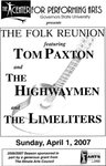 Folk Reunion Featuring Tom Paxton and The Highwaymen and The Limeliters