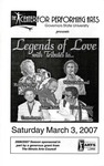 Legends of Love by Center for Performing Arts