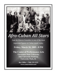 Afro-Cuban All Stars by Center for Performing Arts