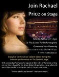Rachael Price by Center for Performing Arts