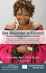Dee Alexander by Center for Performing Arts