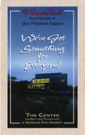 1995-1996 Season Brochure by Center for Performing Arts