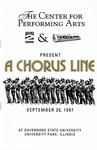 Chorus Line by Center for Performing Arts