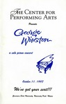 George Winston: A Solo Piano Concert by Center for Performing Arts