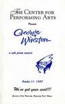 George Winston: A Solo Piano Concert