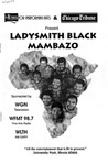 Ladysmith Black Mambazo by Center for Performing Arts
