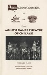 Muntu Dance Theatre of Chicago by Center for Performing Arts
