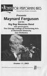 Maynard Ferguson and His Big Bop Nouveau Band by Center for Performing Arts