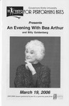 Bea Arthur by Center for Performing Arts
