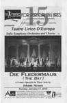 Die Fledermaus (The Bat) by Center for Performing Arts