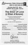 Elixir of Love by Center for Performing Arts