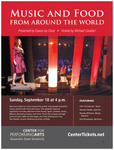 Music and Food From Around the World by Center for Performing Arts