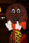 Pierre with Giant Reese's Peanut Butter Cup