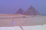 Pierre at the Pyramids