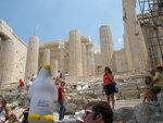 Pierre at the Acropolis by Cheri Garey