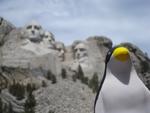 Pierre at Mount Rushmore