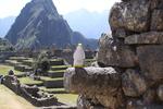 Pierre at Machu Picchu