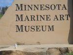 Pierre at Minnesota Marine Art Museum