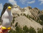 Pierre at Mount Rushmore Again by Kelly McCarthy
