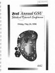 2nd Annual Governors State University Student Research Conference Proceedings by Shailendra Kumar Ph.D., Editor