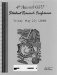 4th Annual Governors State University Student Research Conference Proceedings