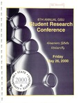 6th Annual Governors State University Student Research Conference Proceedings by Shailendra Kumar Ph.D., Editor