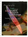 11th Annual Governors State University Student Research Conference Proceedings by Shailendra Kumar Ph.D., Editor