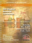 15th Annual Governors State University Student Research Conference Proceedings by Shailendra Kumar Ph.D., Editor