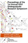Proceedings of the 1st Annual GSU Undergraduate Research Symposium by Shailendra Kumar Editor
